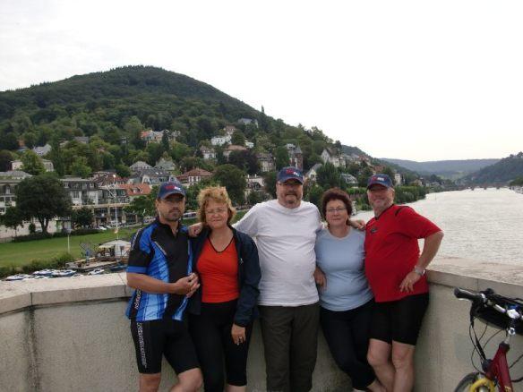 Gruppenbild am Neckar