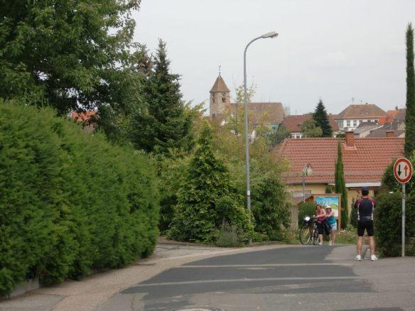 """Für die Frauen unvergeßliche Momente: Weg zum """"Balkon der Pfalz"""""""