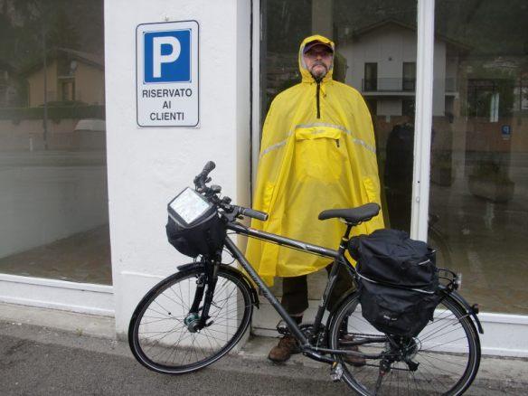 Ja, in Italien kann es auch regnen