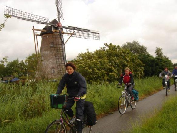 Holland wird im Sturm erobert
