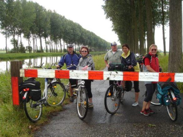 Und wieder eine Grenze überquert: Wir sind jetzt in Belgien