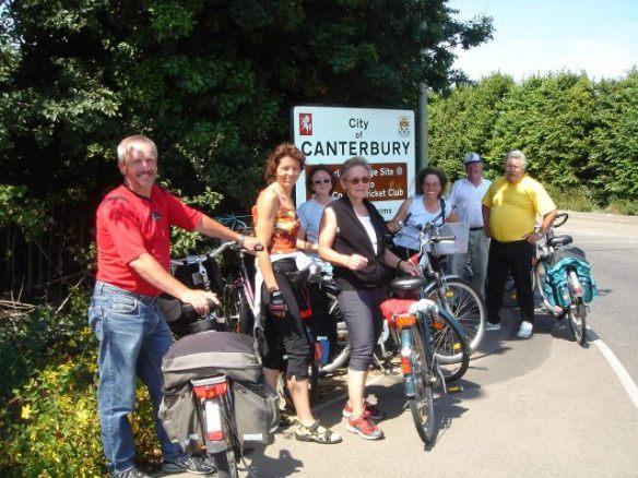 Canterbury: Ziel erreicht