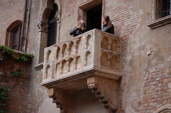 Was soll man auf Julias Balkon auch sonst fotografieren?