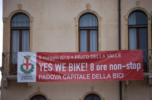 Padua wirbt damit, besonders fahrradfreundlich zu sein