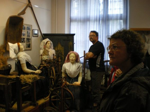 Im Heimatmuseum von Dissen erfährt man viel über dias sorbische Brauchtum