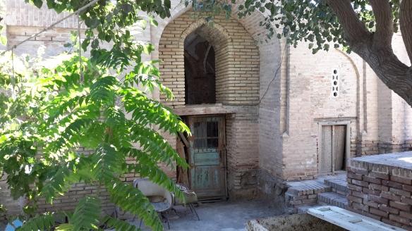 Mausoleum eines Heiligen - Verfallen, aber im Wiederaufbau