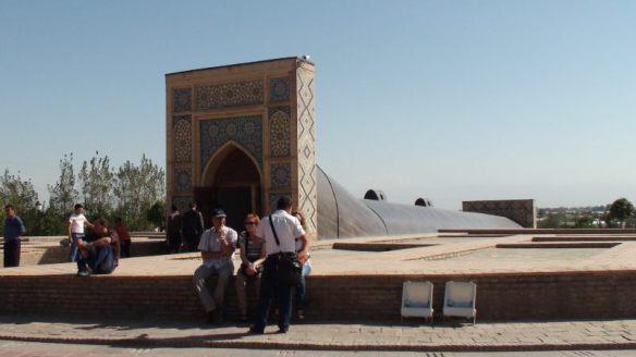 uleg Beg Observatorium in Samarkand