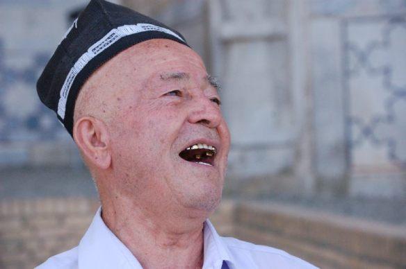 Spaß-Macher in Samarkand
