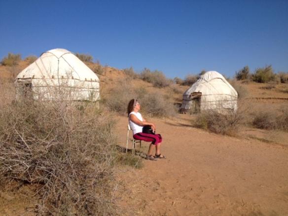 Entspannung pur im Jurten-Camp