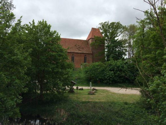 Die Kirche in Mühlen Eichsen