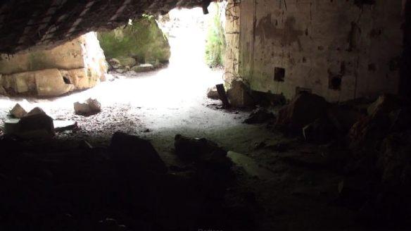 Die Überreste des Göring-Bunkers