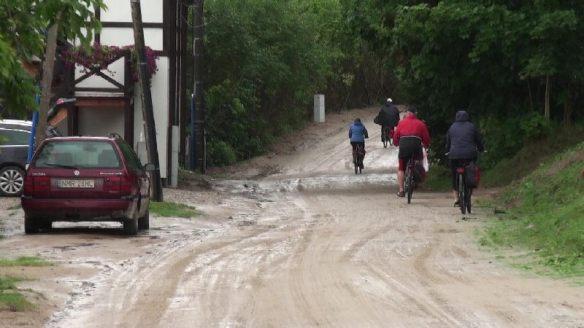 """Die """"Straße"""" nach Mikolajki"""